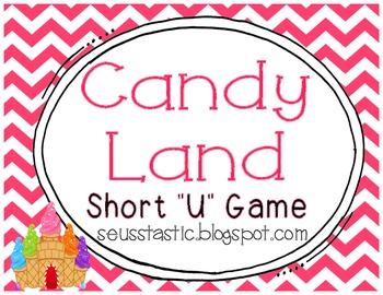 """Candy Land Short """"U"""" Game"""