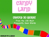 Candy Land Sight Word Game (Words 31-60)