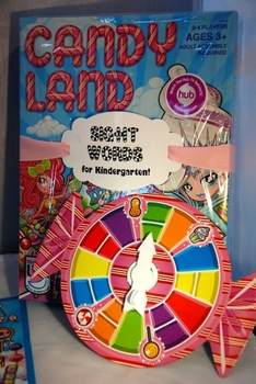 Candy Land Sight Word game for Kindergarten