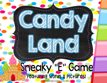 Candy Land Sneaky E Game