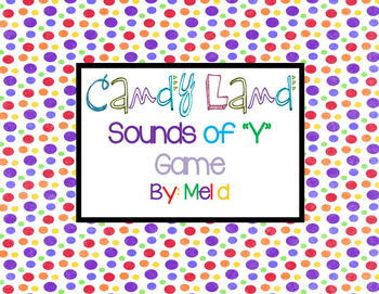 """Candy Land Sounds of """"Y"""" Game"""