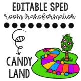 Candy Land- Sped Room Transformation and Data Collection