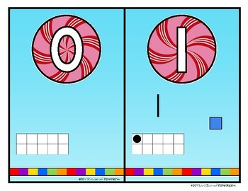 Candy Land Themed Number Printables by Education and Inspiration