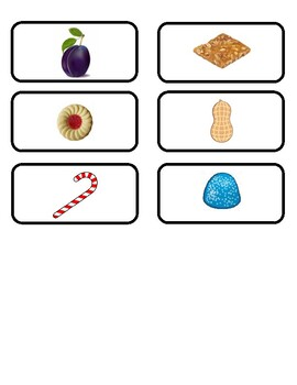 Candy Land game cards - Multiplication