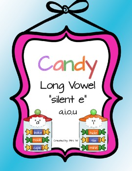"Long Vowel ""silent e"" - Literacy Center"