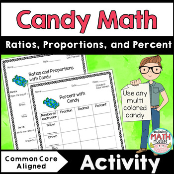 Candy Math Activity with Ratios, Proportions, Percent and Probability