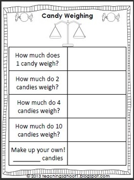 Candy Math Add-Ons