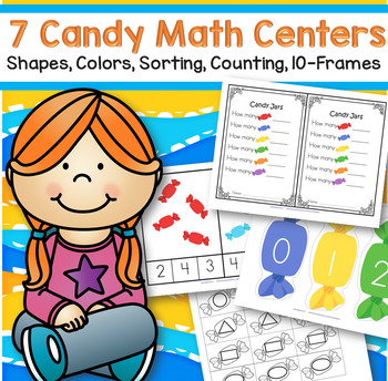 Candy Math Centers 7 for Preschool and Pre-K