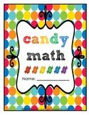 Candy Math Packet
