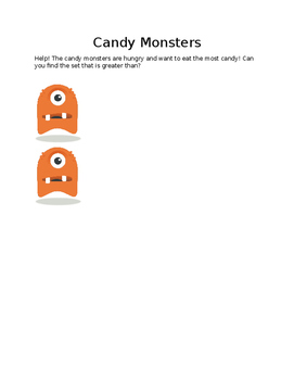 Candy Monster Greater Than Sets
