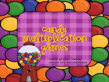 Candy Multiplication Games