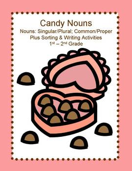 Nouns: Candy and Valentines Day Theme