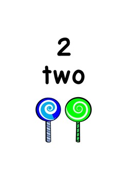 Candy Numbers 1-20