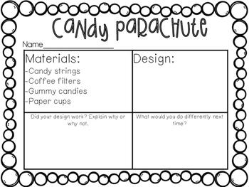 Candy Parachute STEM Challenge