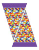 """Candy Pennants – Candy Corn – Jelly Beans – 5"""" W x 8"""" H –"""