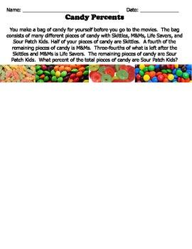 Candy Percent Challenge Problem- Enrichment