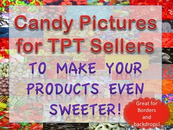 Candy Pictures Images Photographs Commercial Use Borders Backgrounds