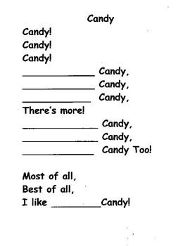 Candy Poem