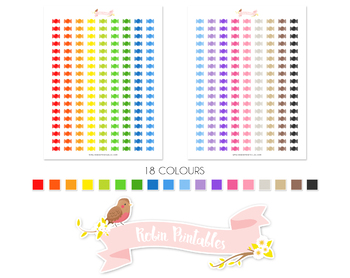 Candy Printable Planner Stickers