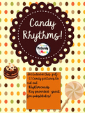 Candy Rhythms: Halloween Activity for General Music / Chorus / Band class!