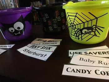 Candy Rhythms Relay Race
