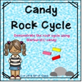 Candy Rock Cycle Experiment