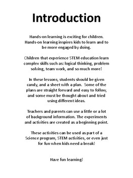 Candy Science Activities STEM