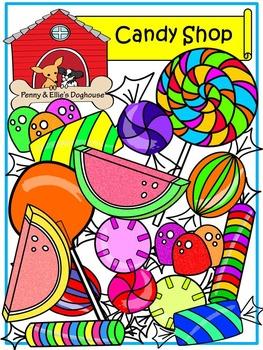 Candy Shop BUNDLE *Penny & Ellie's Doghouse Clipart*