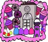 Candy Shop Clipart -MadeforSecondGrade