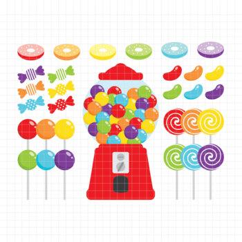 Candy Shop-Digital Clipart (LES.CL05A)