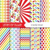 Candy Shop-Digital Paper (LES.DP05A)