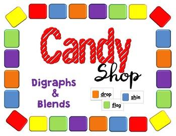 Candy Shop Digraphs & Blends