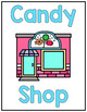 Candy Shop Dramatic Play Set