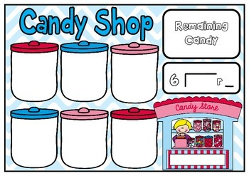 Candy Shop Early Division Mats