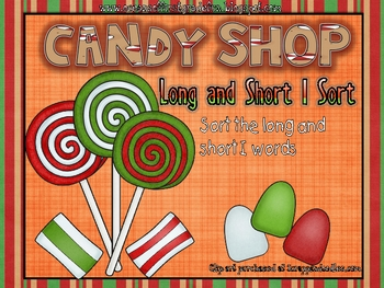 Candy Shop Long and Short I Sort