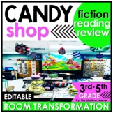 Candy Shop Reading Classroom Transformation