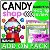 Candy Shop Reading Classroom Transformation ADD ON PACK