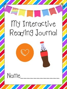 Candy Shop Themed Interactive Journal Covers