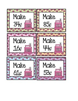 Candy Store: Valentine's Day Money Activities & Worksheets