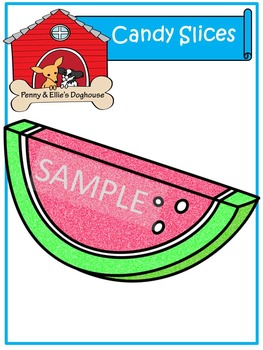 Candy Slices *Penny & Ellie's Doghouse Clipart*