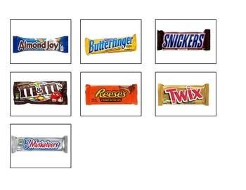 Candy Sort: Vocational Task/Task Box
