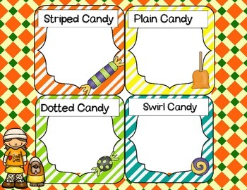 Candy Sorting Homework