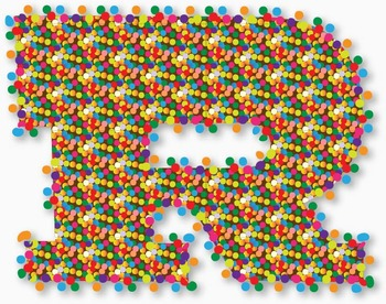 """Candy Sprinkles!  98 pcs - 3.5"""" High, Vector PDF and PNGs"""