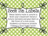 Candy Store Book Bin Labels