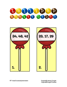 Candy Store Math and Literacy Centers