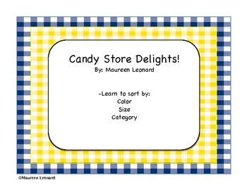 Candy Store Sorting
