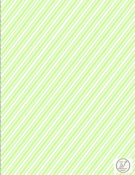 Candy Stripe Backgrounds, Title, and/or Section Pages