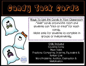 Candy Task Cards