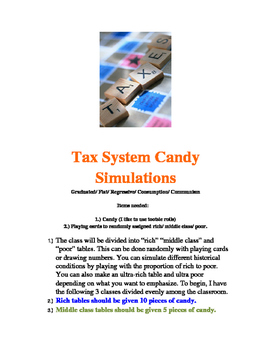 Candy Tax Systems Simulations
