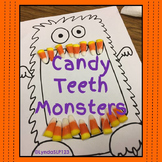 Candy Teeth Monster Open Ended Fun for Speech Therapy